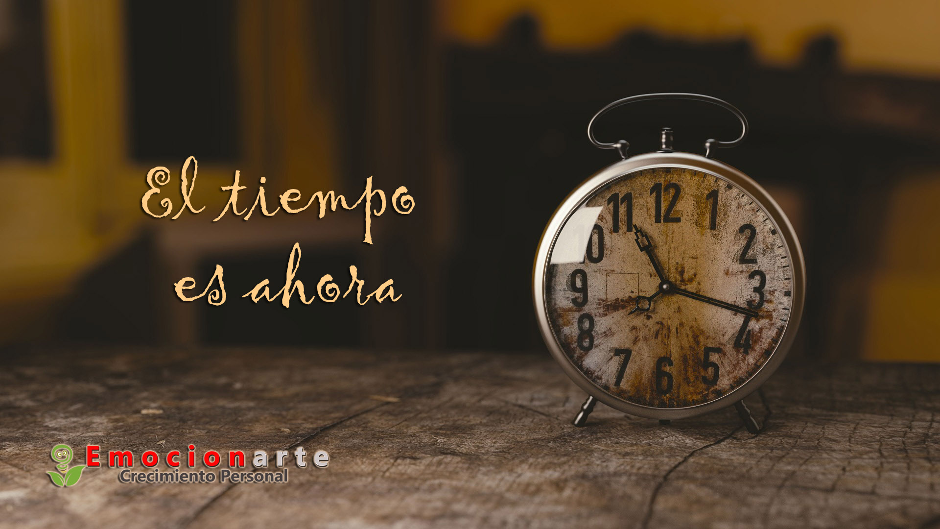 El tiempo es ahora