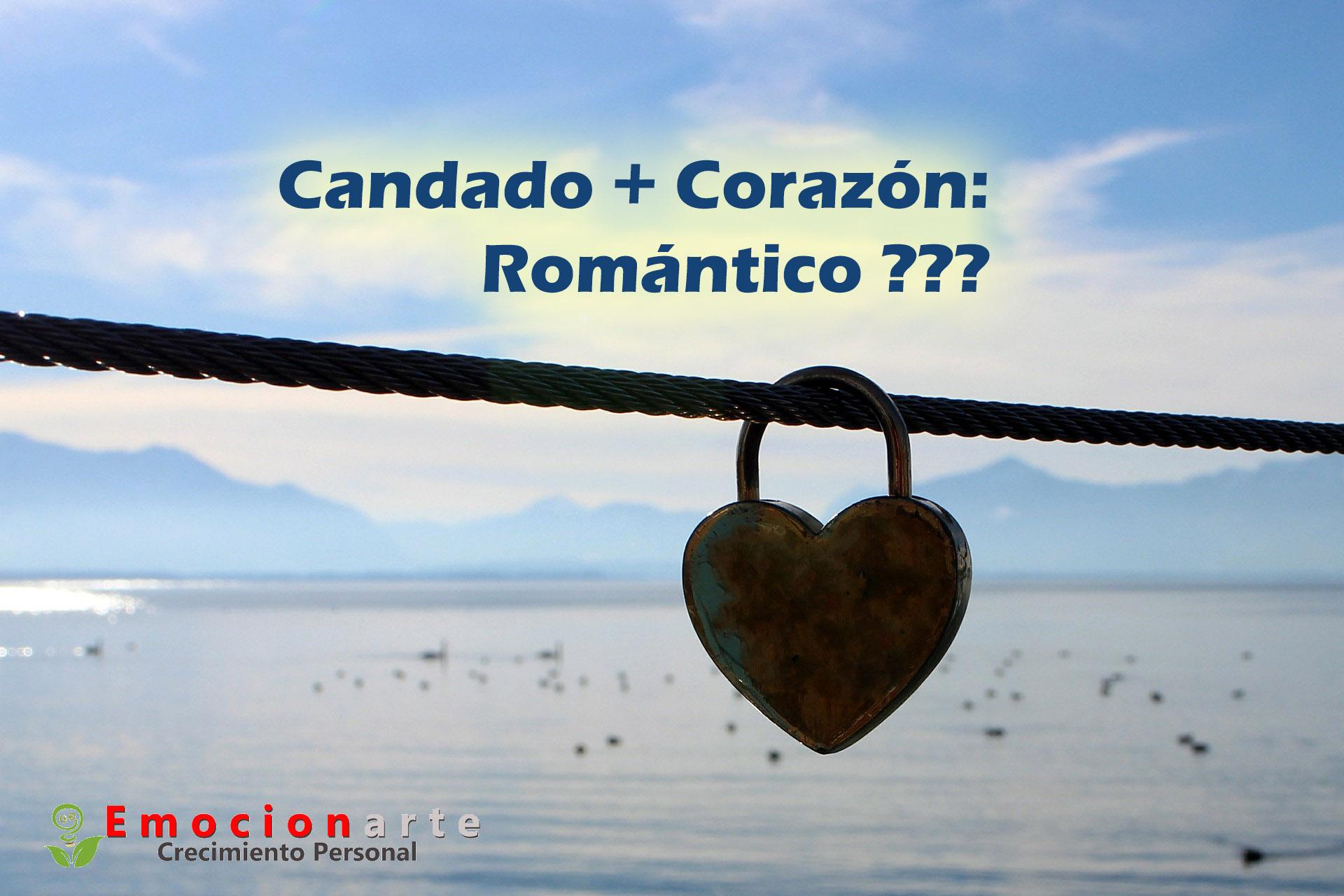 ¿ Candado, Corazón: romántico ?